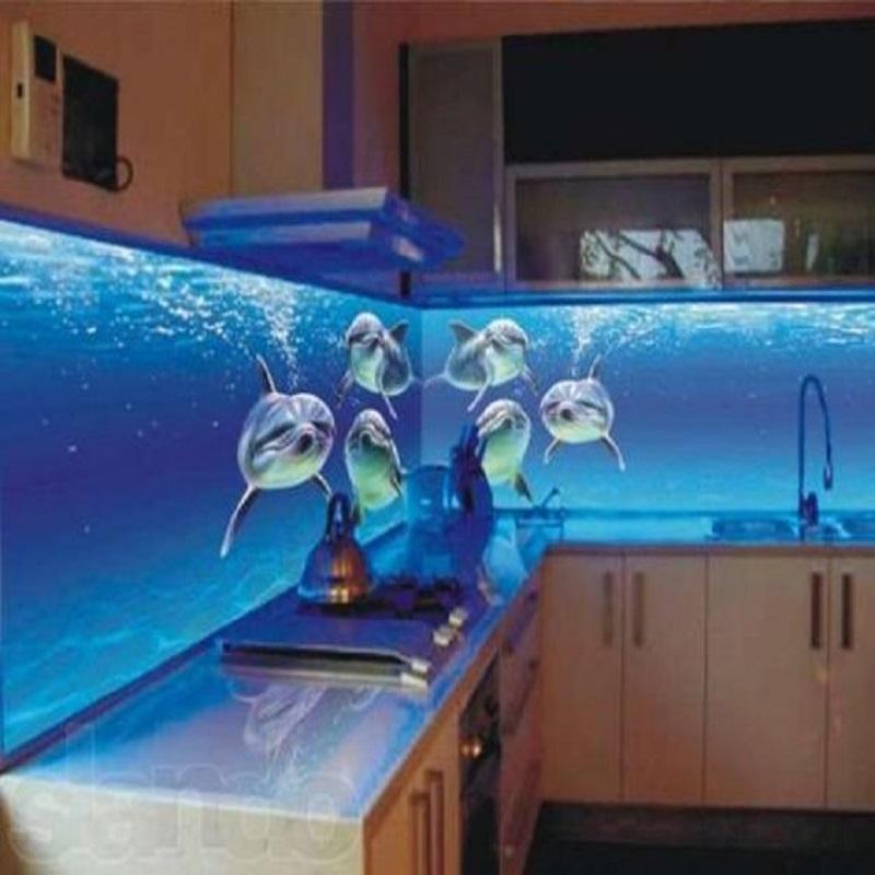 Kitchen full colour splash board digital laminated print for Splash board kitchen