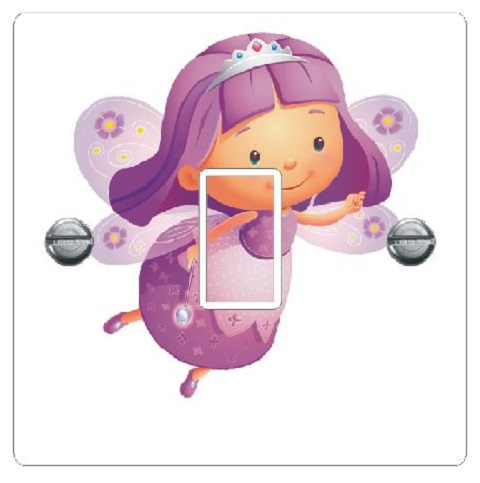 Cartoon Purple Fairy Colourfast Graphics