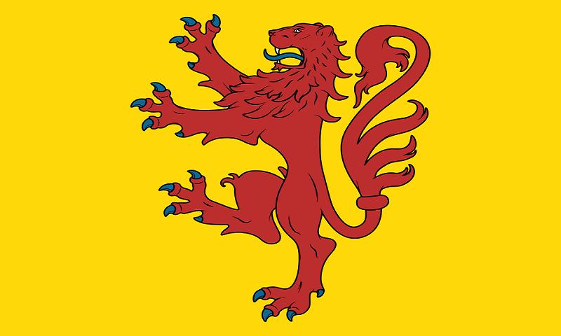 Montgomeryshire Flag Sticker Colourfast Graphics