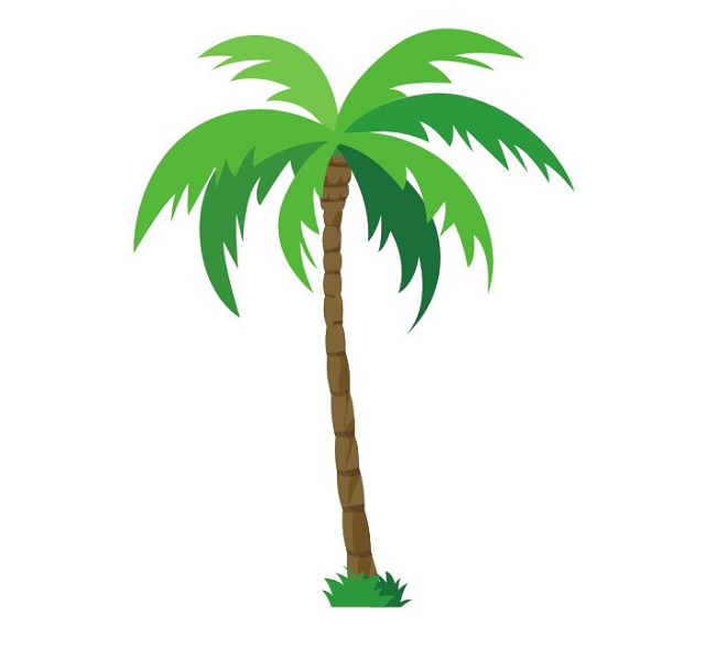 Palm Tree Style 7 Colourfast Graphics