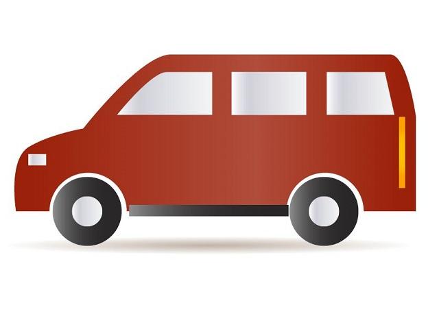 Image result for red van cartoon