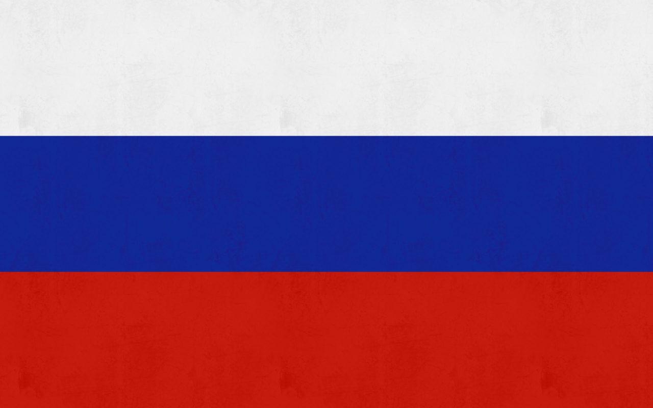 Russia Flag Sticker Colourfast Graphics