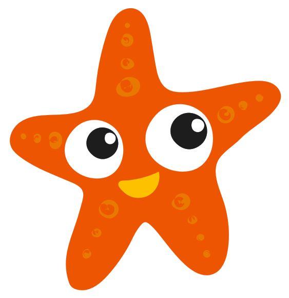 Starfish Orange - Colourfast Graphics