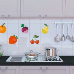 Fruit and veg tile stickers