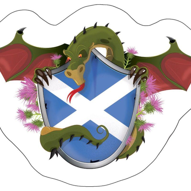 Scottish Dragon Shield