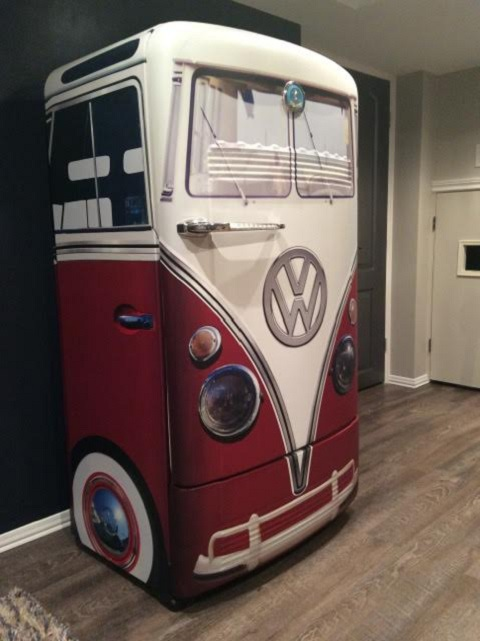custom fridge door wrap cm colourfast graphics