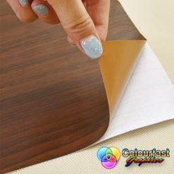 Wood effect vinyl