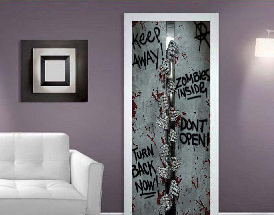 Han solo door wrap home decoration self adhesive stickers